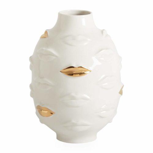 Vase Muse Gala rond doré